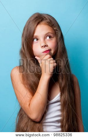 Young Surprised Girl