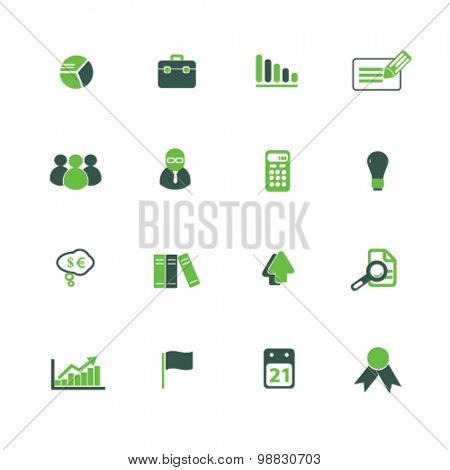 consulting, presentation, consultation icons, signs, illustrations