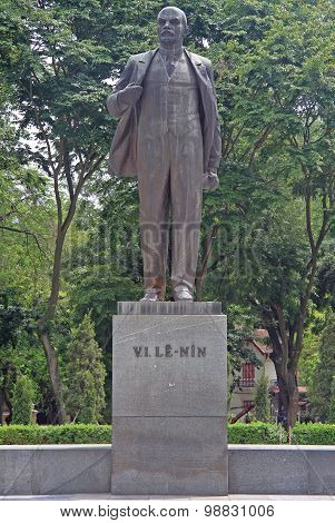 statue of V.I.Lenin in Hanoi