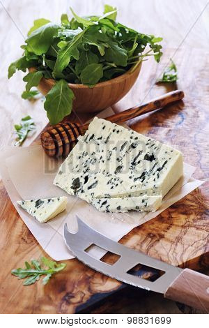 Blue Cheese Roquefort And Rocket Salad