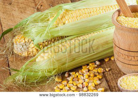 Corn And Corn Grits