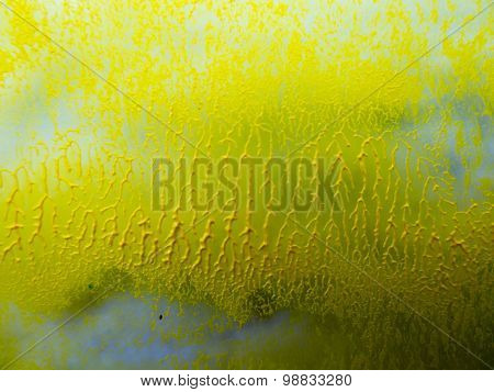 Interesting Yellow Background With Texture