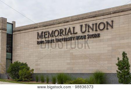 Memorial Union And Iowa State University Bookstore