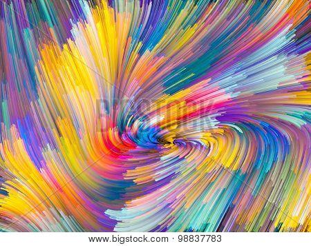 Conceptual Color Vortex