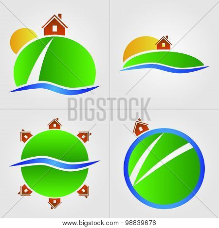 House On The Hill Icons