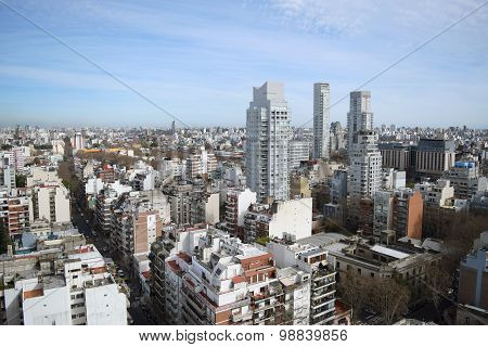 View Of Buenos Aires City.