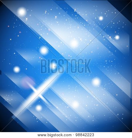 Blue motion abstract background