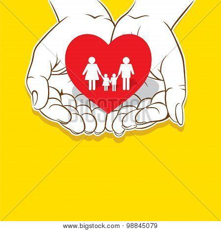 loving family concept design