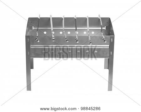 Brazier isolated on white background
