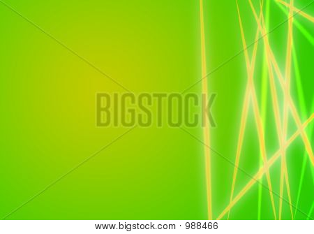Abstrack Green Background