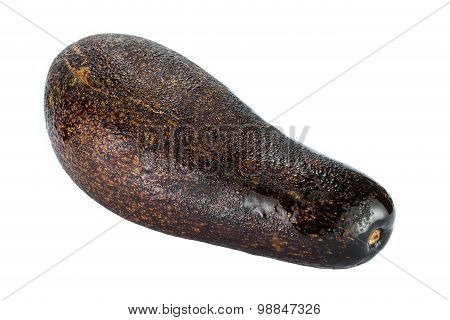 Big Avocado Isolated On A White Background
