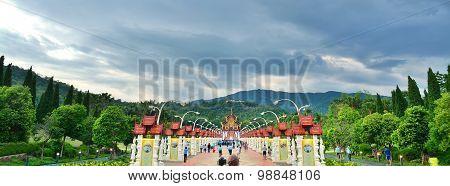 Ho Kham Luang  At Royal Flora ,Chiangmai ,Thailand