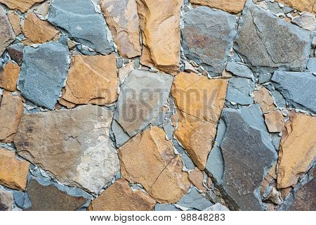 wall stones as textured background