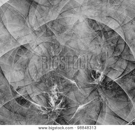 Abstract Fractal Background Gray