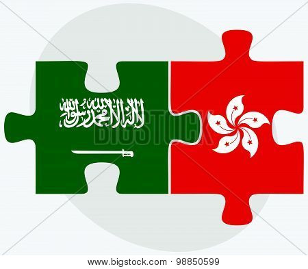 Saudi Arabia And Hong Kong Sar China