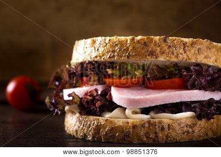 Fresh Ham Sandwich