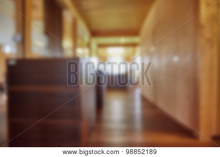 Blurred Background Office