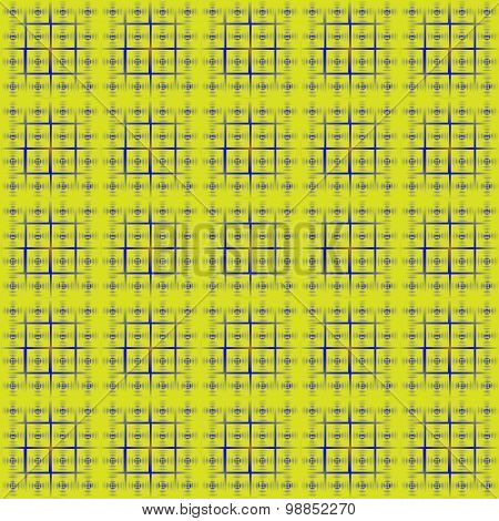 Peas In A Square Lattice