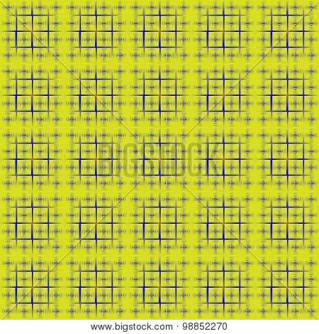 Peas In A Square Lattice