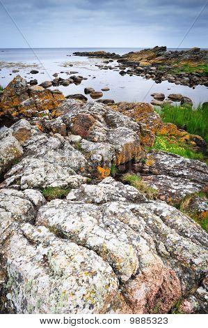 Rocks On Bornholm Island, Baltic Sea