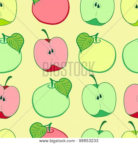 Seamless grades of apples