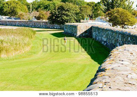 Walk Outside Wall