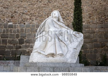 Monument Of Saint Teresa Of Avila, Avila, Spain