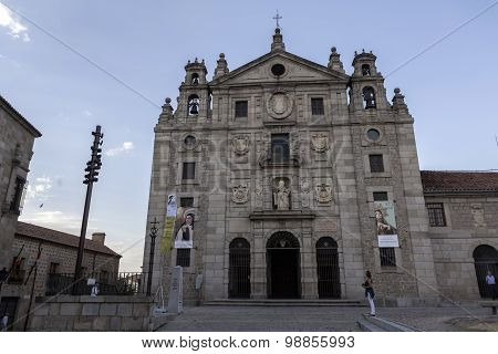 Convent of Santa Teresa, Avila, Unesco World Heritage Site, Castillia Y Leon, Spain