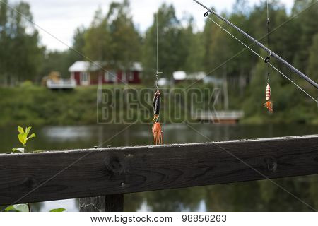 Hanging lures