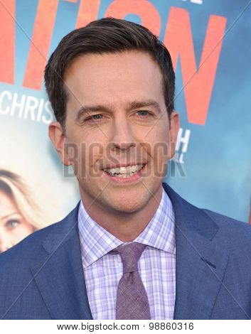 LOS ANGELES - JUL 27:  Ed Helms arrives to the