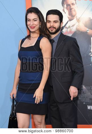 LOS ANGELES - JUL 27:  Samm Levine & Eve Fizz arrives to the