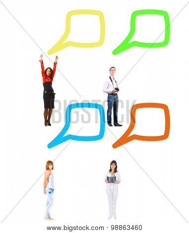 Many Colleagues Negotiations Idea