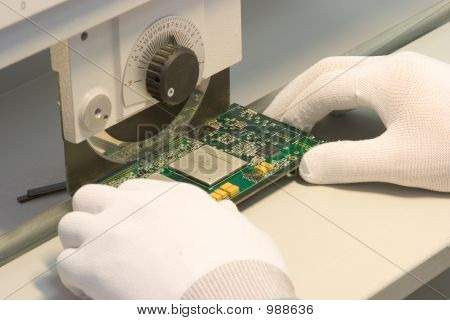 Chopping Mainboard Wafer