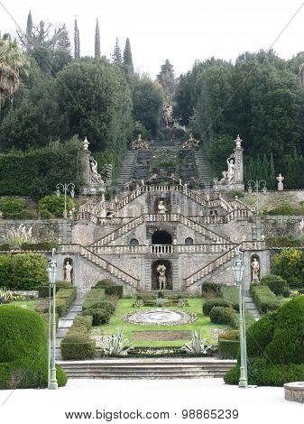 Park in Collodi in Italy
