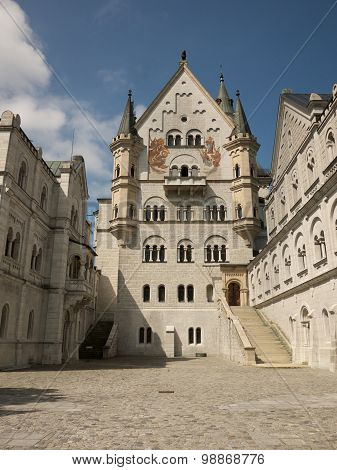 Court Of The Neuschwanstein Castle