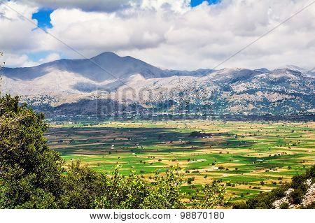 Mountain Landscape, Crete, Greece.