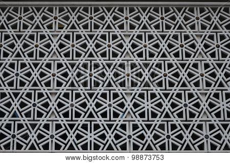 Malaysian Mosque facade pattern