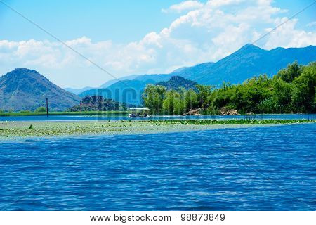 Boat, Skadar Lake