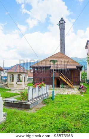 Mosque Of Vezir, Gusinje