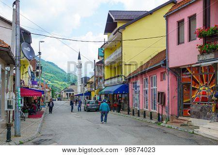 Street Scene, Gusinje
