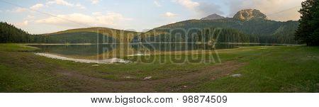 Panorama Of The Black Lake, Durmitor