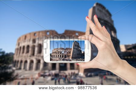 Travel photo of the Colosseum