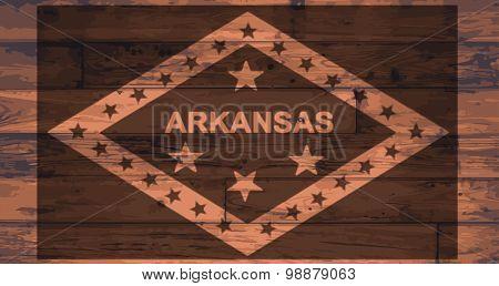 Arkansas Flag Brand