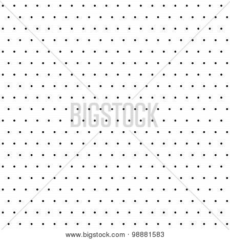 Seamless Vector Pattern With Polka Dots