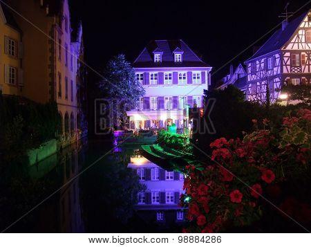 Colmar At Night