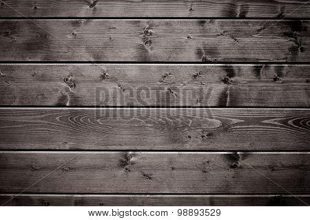 Old Black Wood Texture