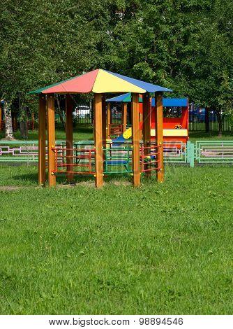 Pavilion For Playground