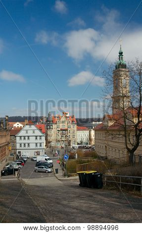 Eisenach, View From Pfarrberg Street, Germany
