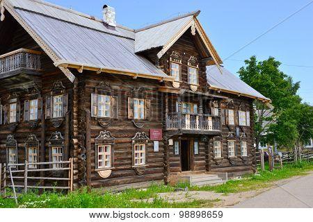 Russia, Karelia, 09.01.2015, Vepskiy Ethnographic Museum