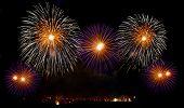 ������, ������: Malta fireworks festival 4 July Independence fireworks explode